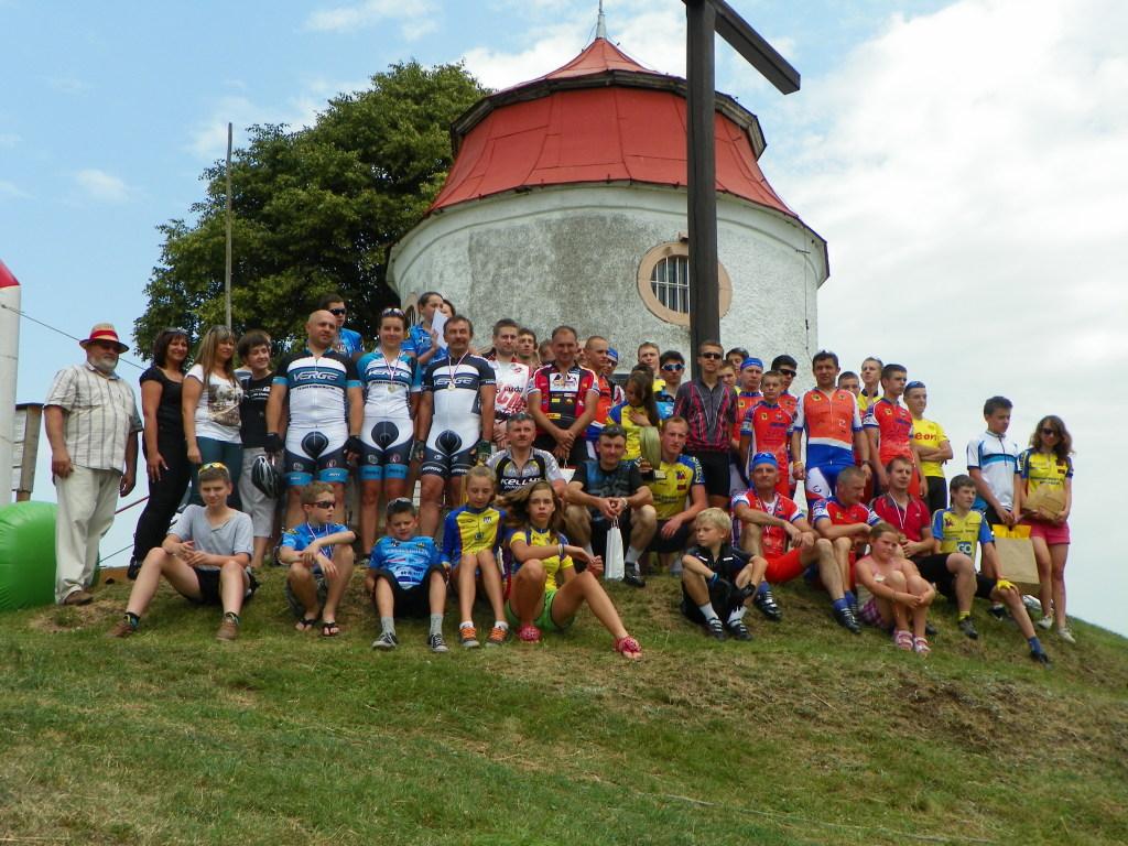 Wyścig MTB na Górę Świętej Anny w Proszówce